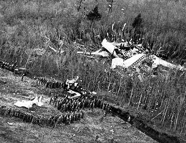 The Japan air crash, which killed 520