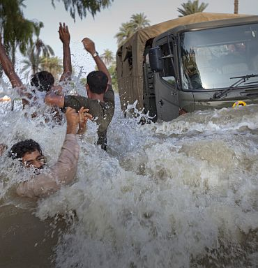 The Pakistani floods of 2010