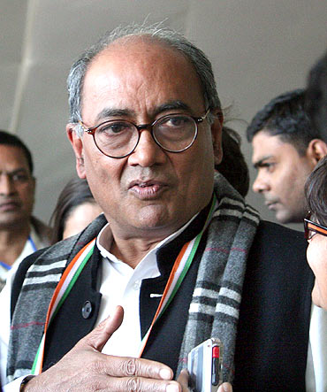 OUT: Congress General Secretary Digvijaya Singh