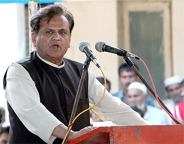 IN: Political Secretary Ahmed Patel