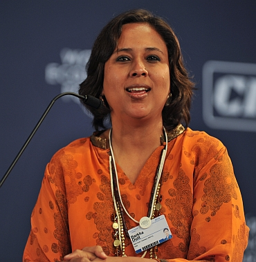 TV journalist Barkha Dutt