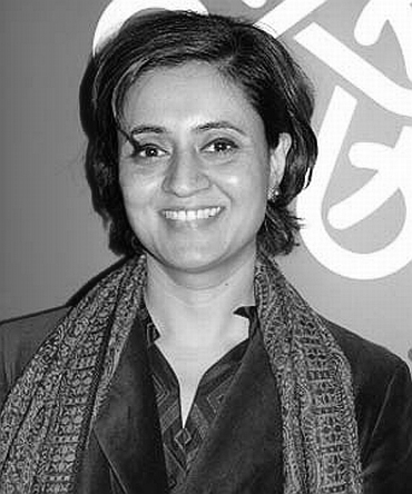 TV journalist Sagarika Ghose