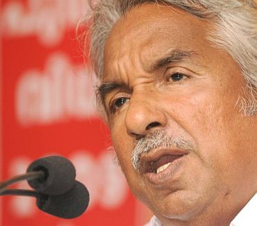 Kerala CM Oommen Chandy