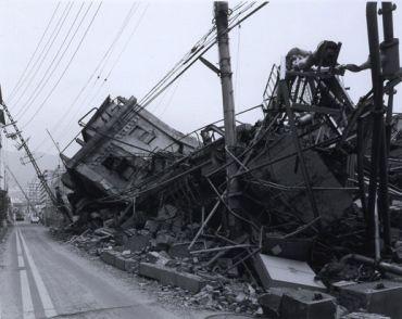 The quake-hit Tokyo-Yokohama,  Japan