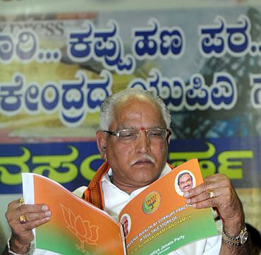 Yeddyurappa's last two acts as CM