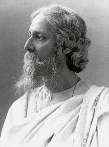 Gurudev Rabindranath Tagore who penned the rousing Jana Gana Mana