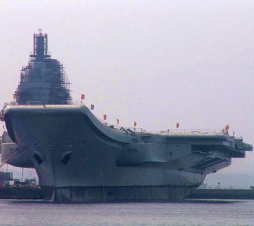 China's first aircraft carrier begins sea trials