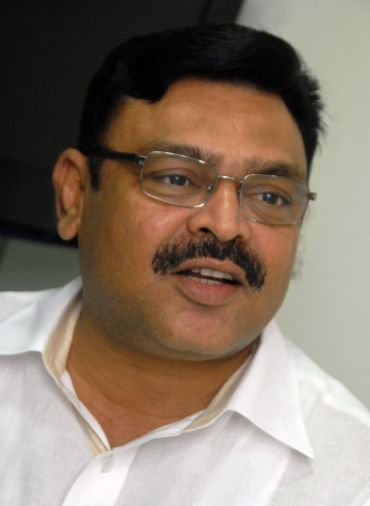 YSR Congress chief Jaganmohan Reddy's close confidant Ambati Rambabu