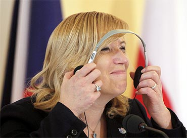 Iveta Radicova, Prime Minister of Slovakia