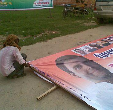 A poster of Rahul Gandhi