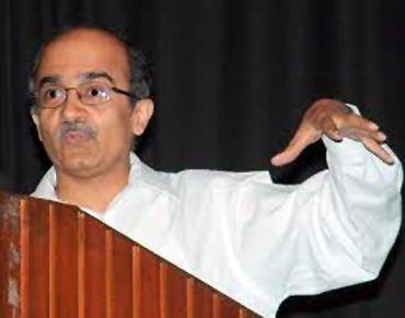 Civil society member Prashant Bhushan