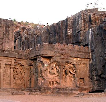 The Ajanta Ellora caves