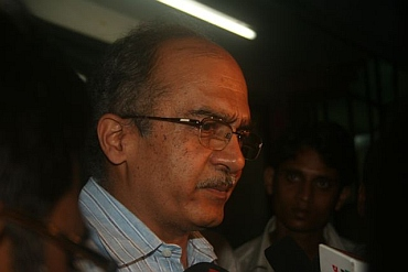 Senior lawyer and activist Prashant Bhushan