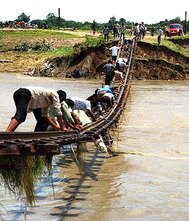 Floods wreck havoc in Assam; 55,000 homeless