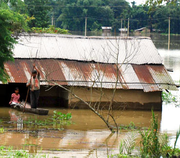 Over 55,000 people have been hit hard by the flash floods that have caused extensive and irreparable damage to crop land.