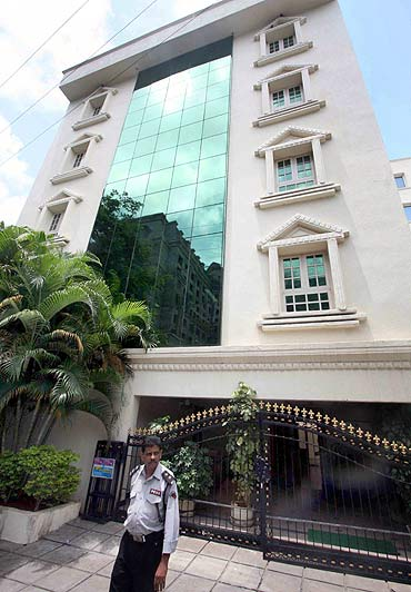 One of YSR Congress chief Jaganmohan Reddy's properties that were raided by CBI