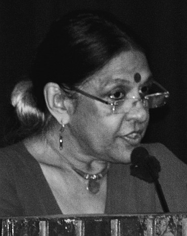 Former president of the Samata Party Jaya Jaitly