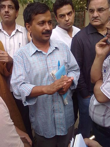 RTI activist Arvind Kejriwal
