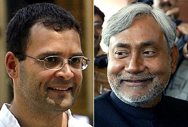 Rahul Gandhi vs Nitish Kumar in 2014?