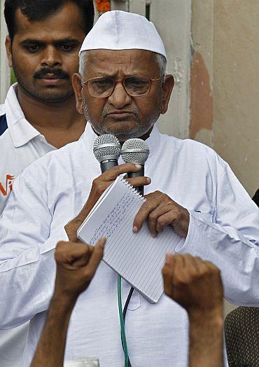 Kisan Baburao 'Anna' Hazare