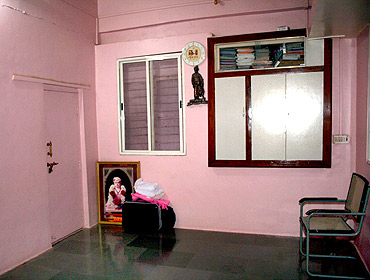 Anna Hazare's personal room at Ralegan Siddhi