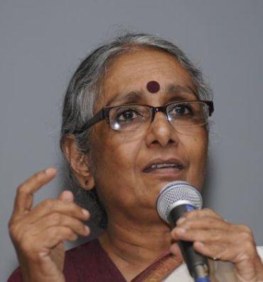 Social activist Aruna Roy