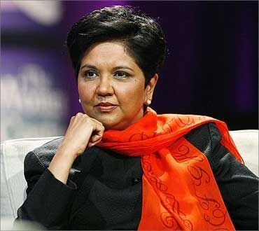 PepsiCo head Indra Nooyi ranks fourth