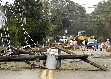 PIX: Hurricane Irene not as disastrous as expected