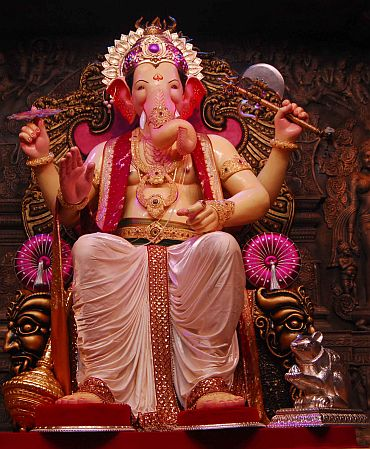 The Lalbaugcha Raja
