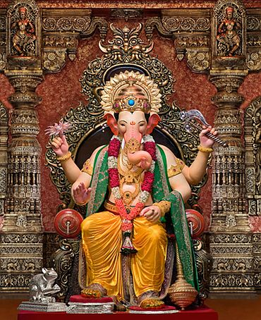 Ganesh Chaturthi The Lalbaugcha Raja In Photos Rediff