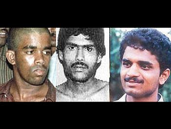 The three -- Murugan, Santhan and Perarivalan -- lodged in Vellore jail, were scheduled to be hanged in September