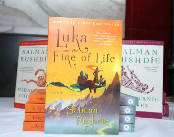 Salman Rushdie's latest novel Luka and the Fire of Life