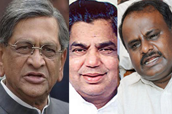 M Krishna, H D Kumaraswamy and N Dharam Singh