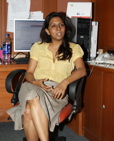 Meenal Baghel, the author