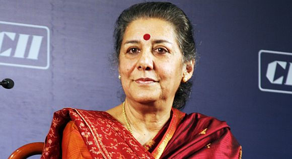 Information and Broadcasting minister Ambika Soni