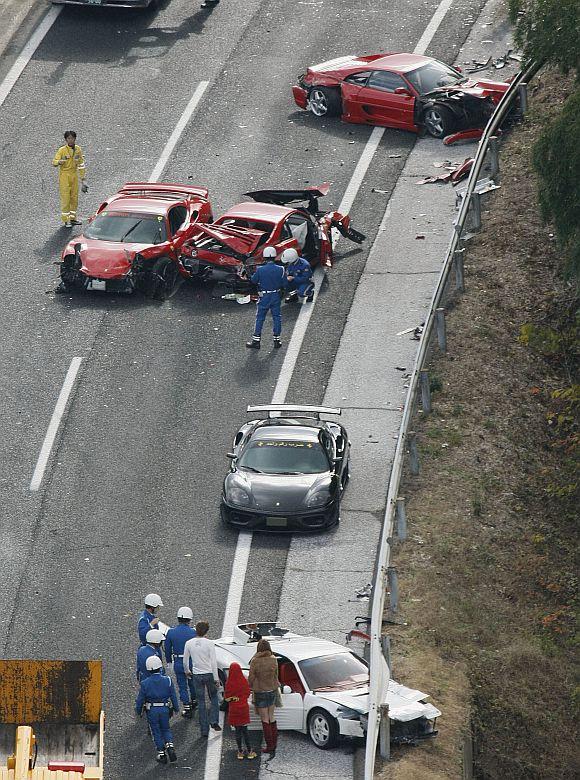 In PHOTOS: World's costliest crash