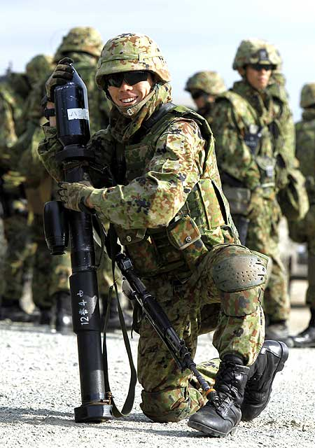 Japanese Ground Self Defense Force is an extension of the national police force