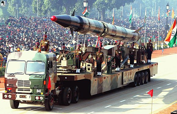 Agni V missile