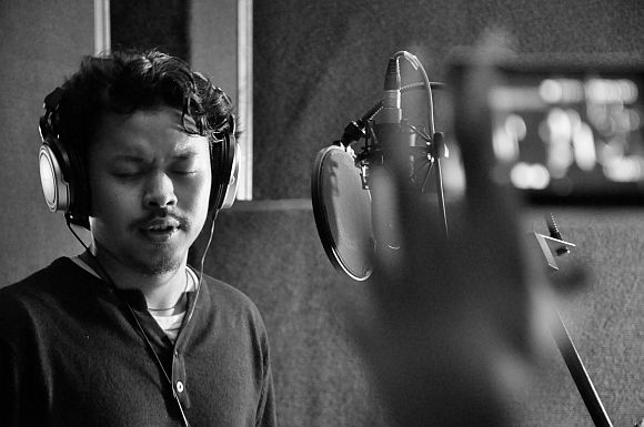 Ronid Chingangbam of the Imphal Talkies. The Delhi-based PhD student asks hard questions of India with his songs