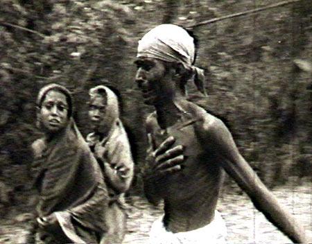 Fleeing villagers in East Pakistan