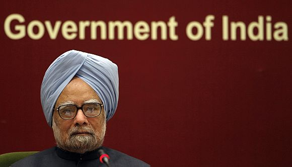 A cornered Dr Singh