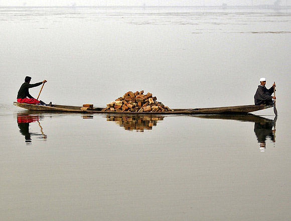 Paradise lost: The Dal Lake in Srinagar