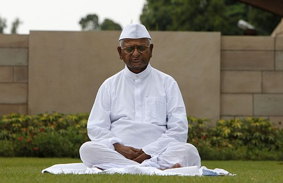 Hazare has raised the decibel on the issue