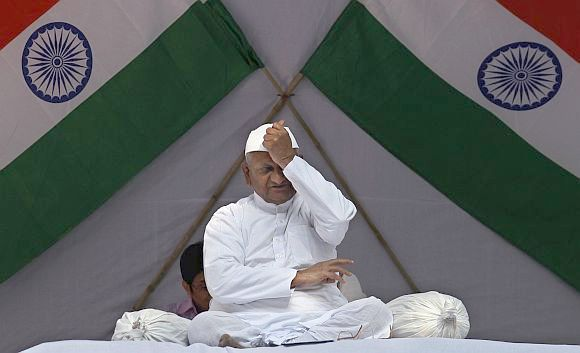 We are not afraid of Anna Hazare: Congress