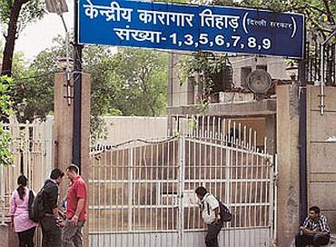 Kulkarni was lodged in Tihar jail