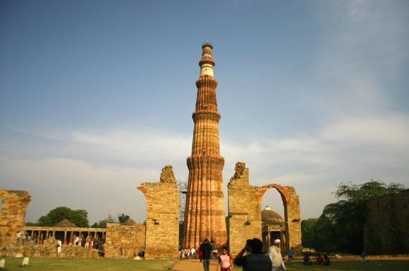 The magnificent Qutub Minar
