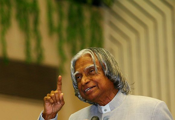Dr APJ Abdul Kalam shares his vision for transforming Indi