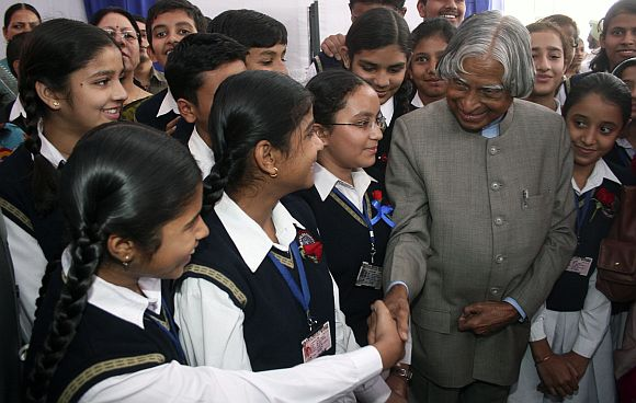 Dr Kalam defines the need for a social entrepreneur.