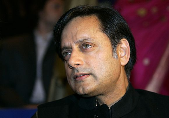 Congress Member of Parliament Shashi Tharoor
