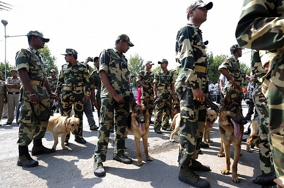 The CRPF dog school will train infantry patrol canines